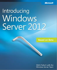 Introducing Windows Server 2012 Book Cover